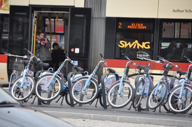 Rowery Mevo ponownie na stacjach zobaczymy prawdopodobnie dopiero wiosną 2021 r.