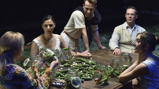 """Dobrym pomysłem z pewnością będzie obejrzenie dowcipnych """"Ślubów panieńskich"""" Aleksandra Fredry w reżyserii Jana Englerta."""