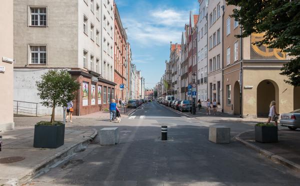 Miasto wciąż nie może uzgodnić z PWKZ projektów przebudowy ul. Ogarnej (nz.) oraz Szerokiej.