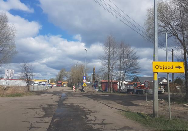 Od niedawna część ul. Starowiejskiej jest zamknięta. Objazd wytyczono przez ul. Gwiazdę Morza, na co narzeka część mieszkańców.