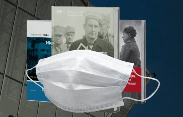 """""""Maska i Książka"""" to kampania społeczno-lokalna Muzeum II Wojny Światowej w Gdańsku, prowadzona w ramach szerszej akcji #M2WSwirtualnie."""