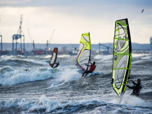 Sezon dla windsurferów rozpocznie się niebawem.