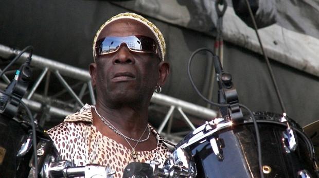 Na tegorocznym festiwalu Jazz Jantar zagra jeden z najciekawszych afrykańskich perkusistów, Tony Allen...