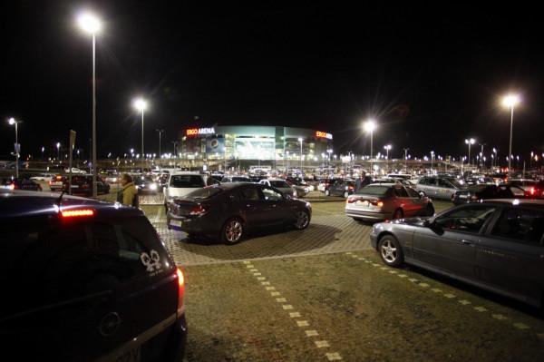 Jednym z rozważanych pomysłów jest stworzenie kina samochodowego na parkingu przy Ergo Arenie.