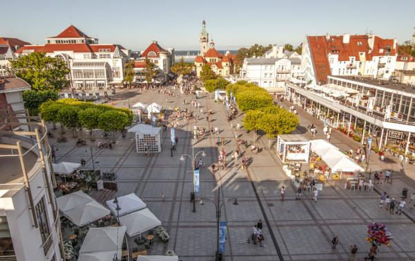Miasto udostępni swoją przestrzeń gastronomikom. Jednym z takich miejsc będzie zapewne plac Przyjaciół Sopotu.