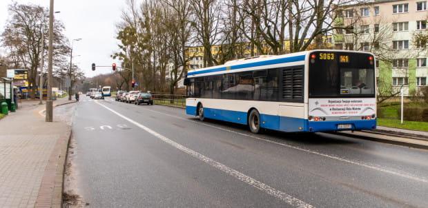 Docelowo buspasy na Witominie mają stanowić zwartą sieć.