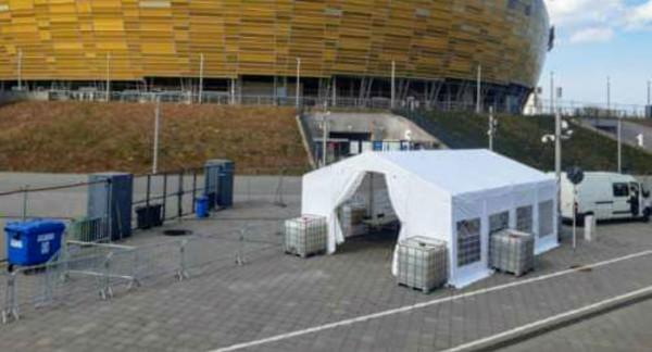 Trwają ostatnie przygotowania do uruchomienia Centrum testowego COVID-19.