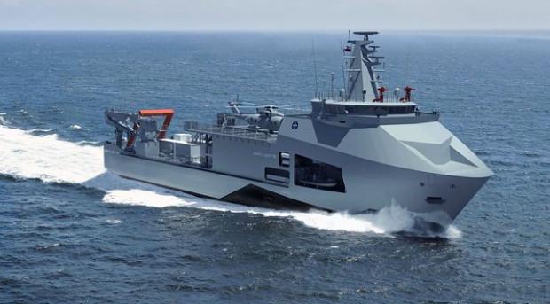"""Okręt """"Ratownik"""" miał być gotowy w listopadzie 2022 roku."""