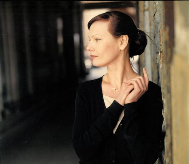 """Czytanie """"My sweet Raskolnikow"""" reżyseruje Olena Leonenko, wdowa po Januszu Głowackim."""