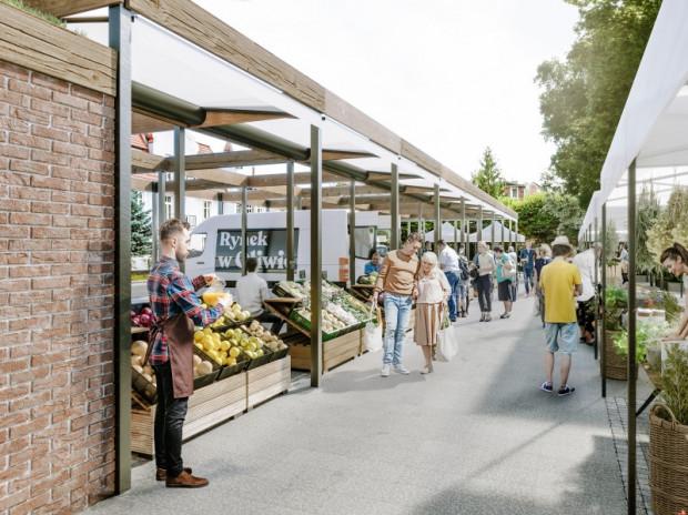 Docelowo oliwski rynek ma przejść modelową modernizację. Obok obecnych sprzedawców pojawią się nowi uzupełniający istniejącą ofertę. Rynek będzie się specjalizował w sprzedaży regionalnych warzyw i owoców, pieczywa, kwiatów i roślin.