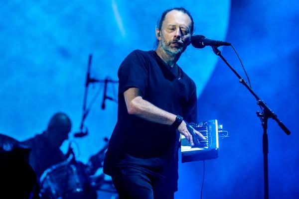 Radiohead w 2017 roku na Openerze.