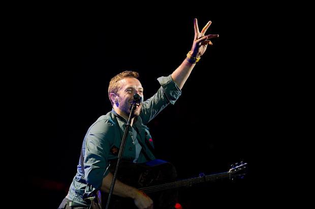 Coldplay zagrał na Openerze w 2011 roku.
