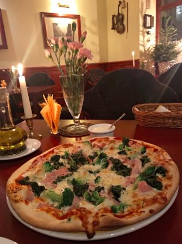 Pizza Cafe Ósemka znajduje się w tym samym miejscu od wielu lat.