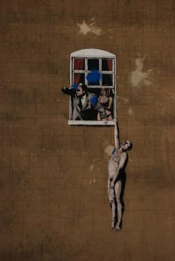 Dzięki ulicznemu artyście o pseudonimie Banksy, Bristol stał się rozpoznawalnym miejscem w świecie street artu. Czy to samo może się stać kiedyś z Gdańskiem?