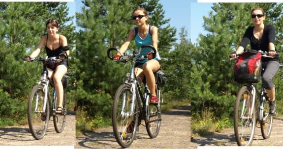 przez Wyspę Sobieszewską wiodą dwa szlaki turystyczne, jak również inne drogi, którymi swobodnie można poruszać się rowerem.
