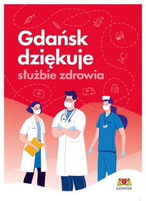Projekt plakatów, które pojawią się w Gdańsku m.in. na przystankach komunikacji miejskiej.