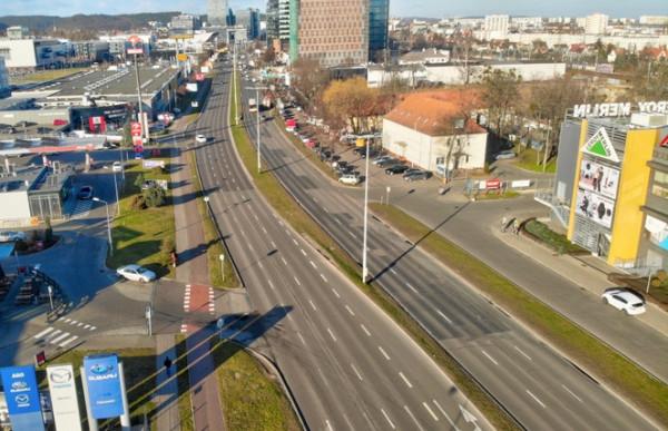 Na koniec maja zaplanowane jest rozpoczęcie remontu al. Grunwaldzkiej w stronę Sopotu.