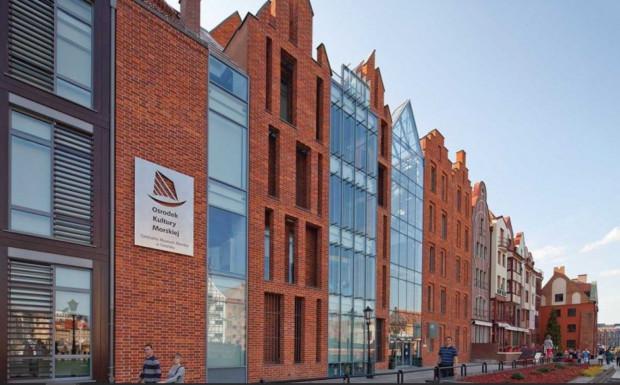 Narodowe Muzeum Morskie pozyskało 3 mln zł na budowę Muzeum Archeologii Podwodnej i Rybołówstwa Bałtyckiego w Łebie. Na zdjęciu inny oddział NMM - Ośrodek Kultury Morskiej.