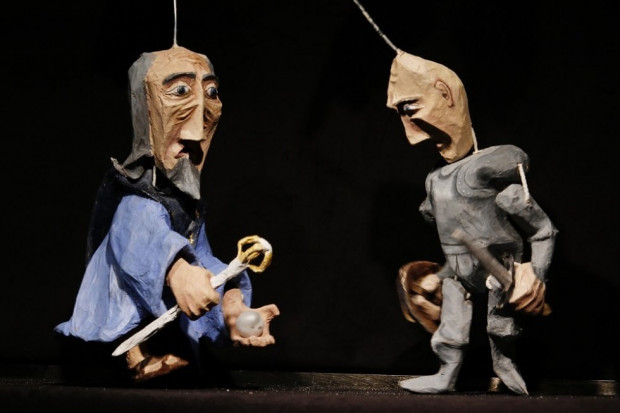 """""""Baśń o rycerzu bez konia"""" Teatru Barnaby to emisja jednorazowa."""