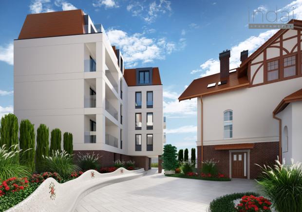 """Na terenie inwestycji zostanie zrealizowany innowacyjny projekt - malowniczy """"kieszonkowy ogród"""", który jest nie tylko ozdobnikiem, ale stanowi też element architektury inwestycji."""