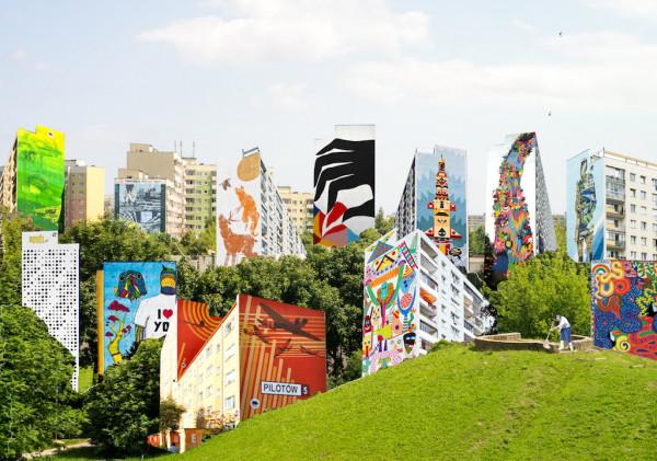 Street art jest dziedziną sztuki obejmującą dzieła tworzone w przestrzeni publicznej, m.in. tradycyjne graffiti oraz murale.