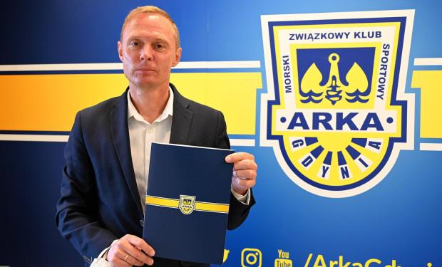 Ireneusz Mamrot został nowym trenerem Arki Gdynia. Ma gwarancję pracy bez względu na to, czy drużyna utrzyma się w tym sezonie w ekstraklasie.