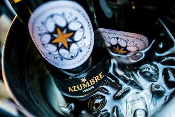 Wino białe - hiszpańskie Azumbre Vinedos, Rueda (około 60 zŁ).