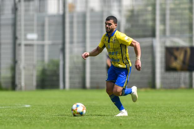 Nabil Aankour osiągnął porozumienie z Arką Gdynia w sprawie kontraktu i następnego dnia dołączył do zgrupowania w Gniewinie.