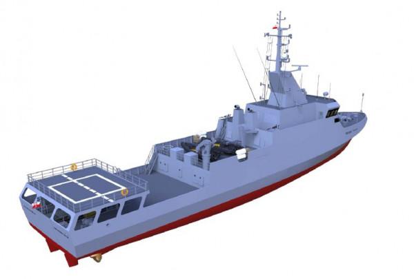 Pływająca stacja demagnetyzacyjna zaprojektowana przez Remontowa Marine Design & Consulting.
