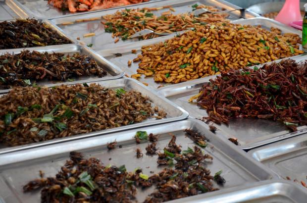 W krajach azjatyckich taki widok w markecie z jedzeniem na wynos to norma.