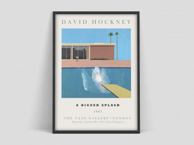 Plakat David Hockney Art Exhibition