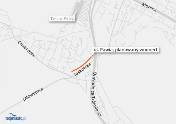 Projekt będzie przygotowany dla odcinka Bławatna - Pawia 24-24a.