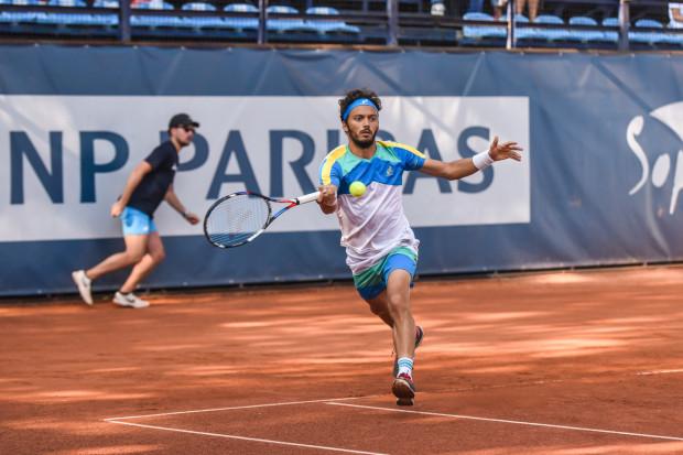 Turnieje BNP Paribas Sopot Open nawiązują do czasów, gdy na sopockich kortach odbywały się imprezy w randze ATP z udziałem czołówki rankingu. Ze względu na pandemię, trzecia edycja odbędzie się dopiero za rok. Na zdjęciu Marco Bortolotti podczas turnieju w 2019 roku.