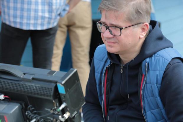 """Sylwester Latkowski, twórca filmu """"Nic się nie stało""""."""
