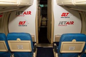 Linie OLT współpracowały z Jet Airem od jesieni 2010 r. Obie linie współpracowały m.in. przy obsłudze połączenia z Hamburga do Rotterdamu.