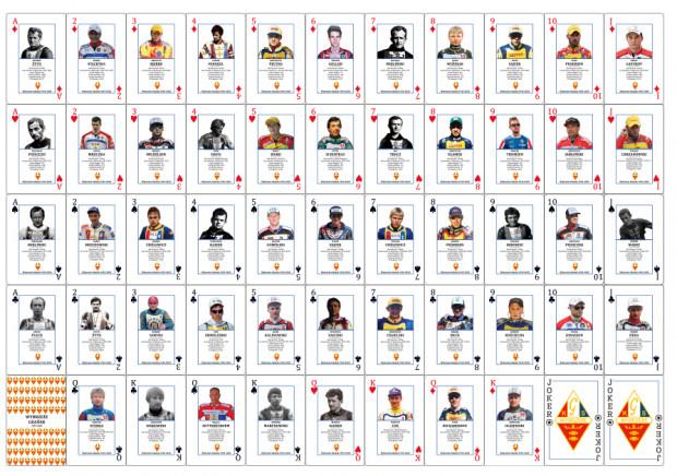 Limitowaną talię kart upamiętniającą najlepszych i najbardziej zasłużonych zawodników w historii gdańskiego żużla można zdobyć tylko wspierając klub przez internetową zbiórkę.