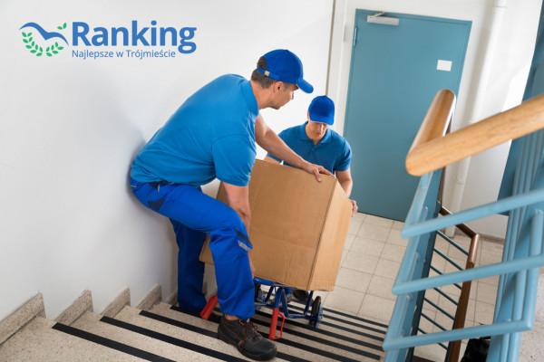 Fachowcy od przeprowadzek nie tylko dbają o zabezpieczenie transportowanych przedmiotów, ale także mają pomocne urządzenia do transportowania ich po schodach czy w ciasnych miejscach.