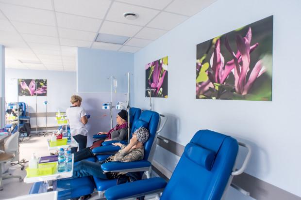 Minister zdrowia apeluje do pacjentów onkologicznych, aby nie przerywali leczenia z powodu epidemii koronawirusa. Na zdj. Oddział Chemioterapii Jednego Dnia Szpitala Morskiego im. PCK w Gdyni.