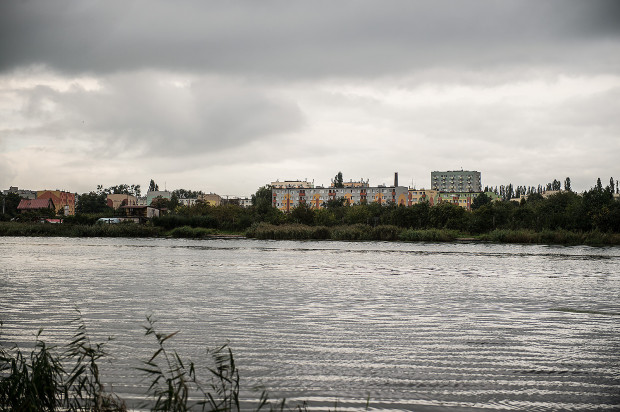 Obecnie nabrzeże na Stogach jest zarośnięte i niedostępne dla żeglarzy.