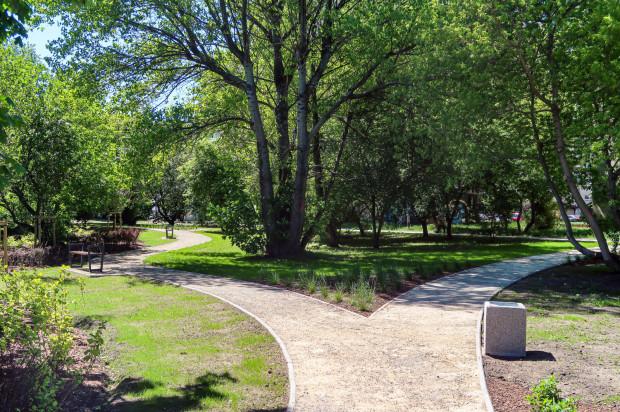 Ukończony park przy estakadzie Kwiatkowskiego w Gdyni