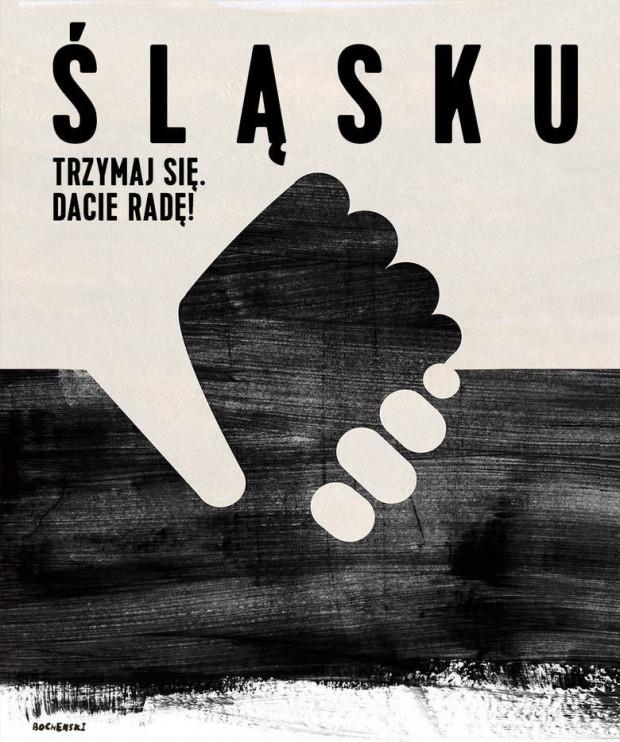 Plakat autorstwa Tomasza Bocheńskiego