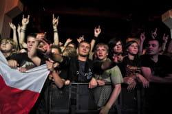 Wśród publiczności były całe pokolenia fanów - od metalowców-weteranów po kilkulatków.