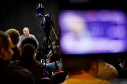 Podczas zlotu Wojciech Marczewski wygłosił wykład na temat reżyserii.
