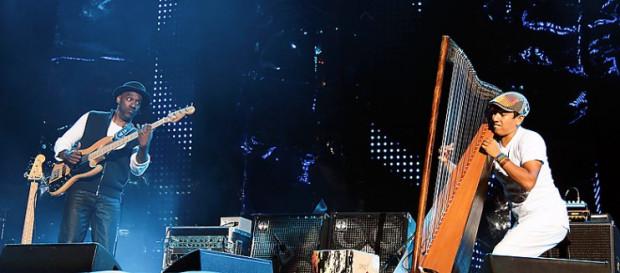 Marcus Miller zaprosił starych wyjadaczy i wschodzące gwiazdy, jak np. harfista Edmar Castaneda.