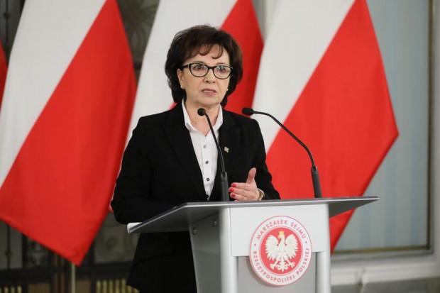 Elżbieta Witek, marszałek Sejmu, ogłosiła termin wyborów prezydenckich.