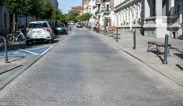 Ulica Wajdeloty będzie deptakiem przez cztery dni na próbę.