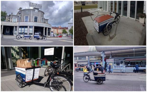 Rowery cargo wróciły do Gdyni 18 maja.