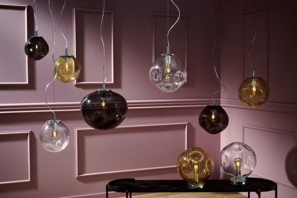 Jednymi z modnych lamp są modele Avia Kaspa, cena od 599 do 2490 zł w zależności od wariantu