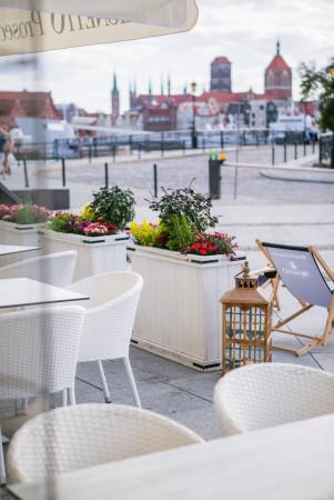 Restauracja Corezze w Gdańsku.