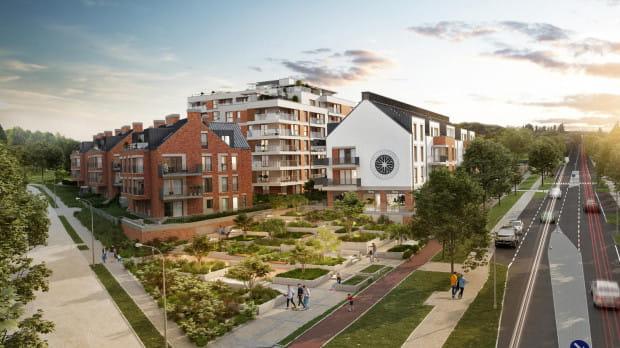 Perspektywa. W sąsiedztwie osiedla znajdują się aż cztery parki - trudno o miejsce na mapie Gdańska z lepszym otoczeniem dla biegaczy, miłośników spacerów czy jazdy na rowerze.